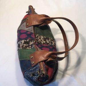 Fossil Patchwork Vintage Bag